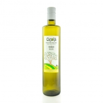 Bottle of 750 ml. Organic EVOO picual variety and early crop